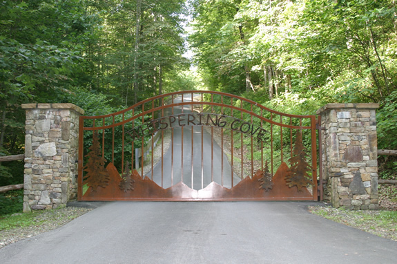 Entrance to Whispering Cove Retreat
